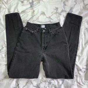 Calvin Klein 4 High Waisted Dark Wash Mom Jeans